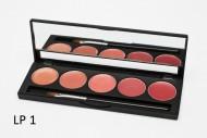 Палитра помад 5 оттенков (5 Lip Palette) MAKE-UP-SECRET LP1: фото