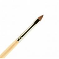 Кисть для ногтей (акрил) ВАЛЕРИ-Д из волоса колонка №4К лепесток: фото