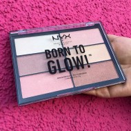 Палетка хайлайтеров NYX Professional Makeup Born To Glow Highliting Palette: фото