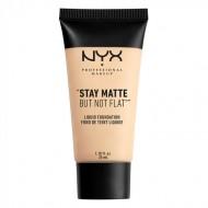 Тональная основа NYX Professional Makeup Stay Matte But Not Flat Liquid Foundation - IVORY 01: фото