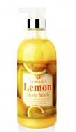 Гель для душа с экстрактом лимона LUNARIS Body wash lemon 750 мл: фото