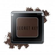 Тени для век моно SECRET KEY Fitting Forever Single Shadow #Night (Deep Brown) 3,8г: фото
