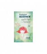 Маска для лица тканевая осветляющая YADAH BRIGHTENING MASK PACK 25гр: фото