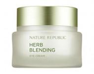 Крем для кожи вокруг глаз с травяными экстрактами NATURE REPUBLIC HERB BLENDING EYE CREAM 25мл: фото