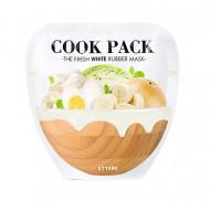 Маска для лица осветляющая Cook Pack The Fresh White Rubber Mask 40г+5г: фото