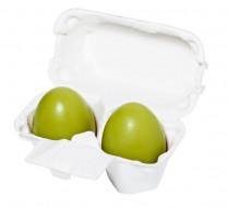 Мыло-маска ручной работы с зеленым чаем Holika Holika Egg Soap Green Tea 50 г*2: фото