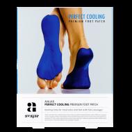 Патч охлаждающий для ступней ног Avajar Perfect Cooling Premium Foot Patch 1 шт: фото