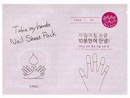 Маска для ногтей A'PIEU Take My Hand Nail Sheet Pack (Berry): фото