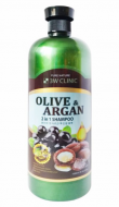 Шампунь для волос АРГАНОВОЕ МАСЛО И ОЛИВА 3W CLINIC Olive&Argan 2in1 Shampoo 1500мл: фото
