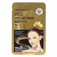 Подтягивающая маска-пленка с коллоидным золотом MBEAUTY GOLD PEEL OFF MASK, 7г х 3шт: фото