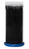 Микрощеточки безворсовые черные (L) 2мм Little Things 100шт: фото
